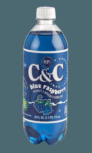 C&C Soda C&C Soda - Blue Raspberry Bottle 710ml