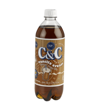 C&C Soda - Vanilla Cream Bottle 710ml