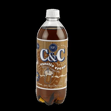 C&C Soda C&C Soda - Vanilla Cream Bottle 710ml