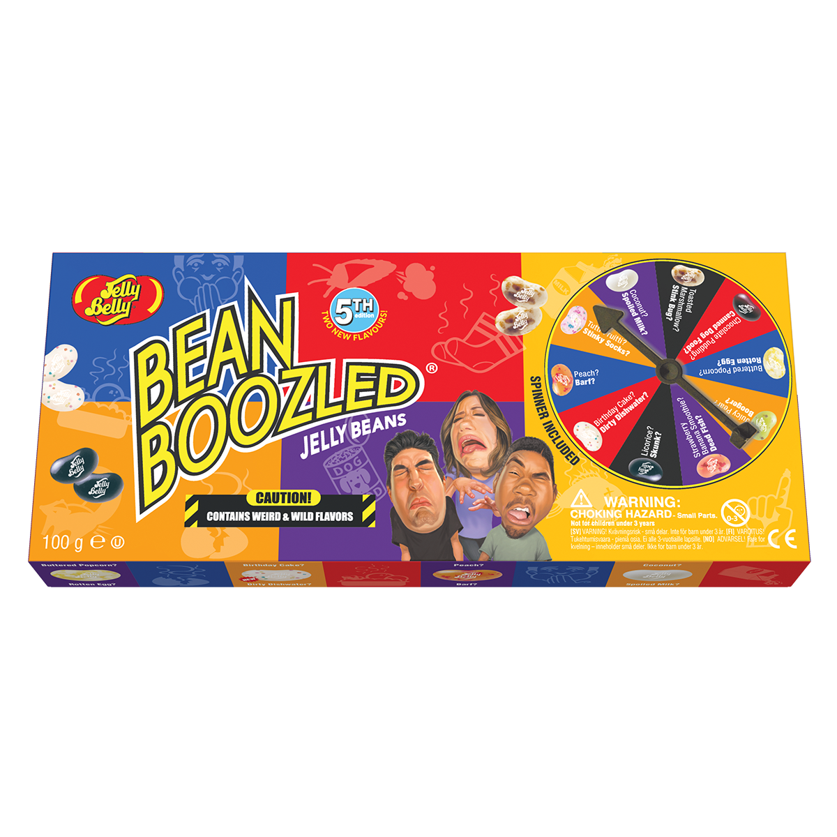 Jelly Belly Jelly Belly - Bean Boozled Game 100 Gram