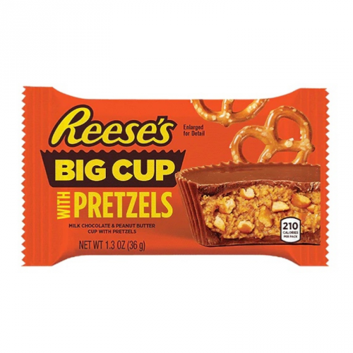 Reese's Reese's - Big Cup Stuffed with Pretzels 36 Gram
