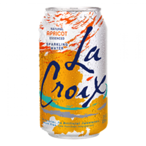 La Croix - Apricot Sparkling Water 355ml 12 Blikjes