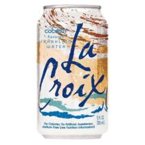 La Croix - Coconut Sparkling Water 355ml 12 Blikjes