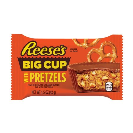 Reese's Reese's - Big Cup with Pretzels 37 Gram