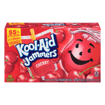 Kool-Aid - Sour Jammers Cherry Flavored Drink 10-pack