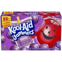 Kool-Aid - Sour Jammers GrapeFlavored Drink 10-pack