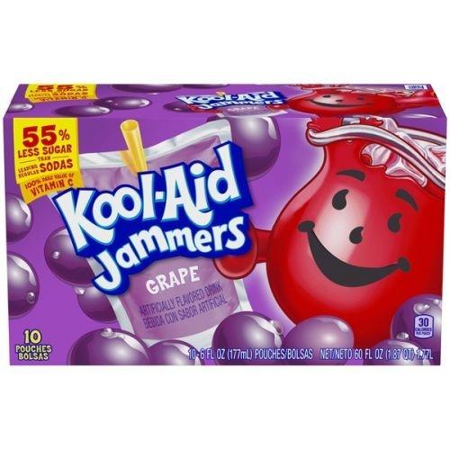 Kool Aid Kool-Aid - Sour Jammers GrapeFlavored Drink 10-pack