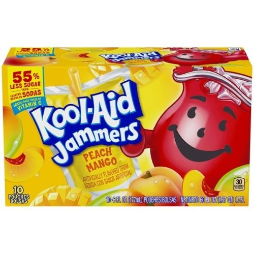 Kool Aid Kool-Aid - Sour Jammers Peach Mango Flavored Drink 10-pack