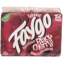 Faygo - Black Cherry 355ml 12 Blikjes