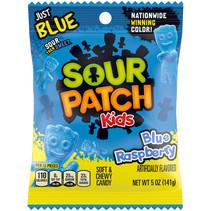Sour Patch - Kids Blue Raspberry Peg Bag 141 Gram