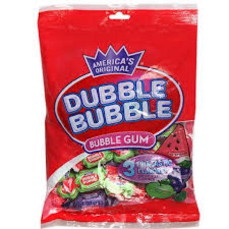 Dubble Bubble Dubble Bubble - 3 Flavours Bubble Gum 180 Gram