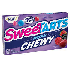 SweeTarts SweeTarts - Mini Chewy Berries/Cherries Theatre Box 106,3 Gram