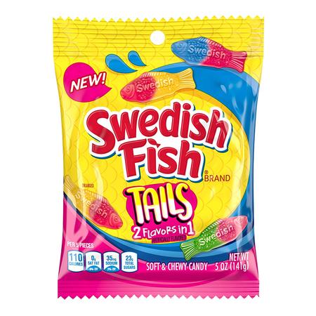 Swedish Fish Swedish Fish - Tails 141 Gram