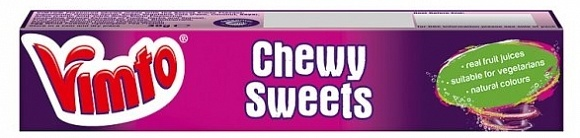 Arm & Hammer Vimto - Chewy Sweets 30 Gram