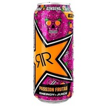 Rockstar - Baja Juiced Passionfruit 500ml 12 Blikjes