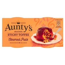 Auntys - Golden Syrup Pudding 190 Gram