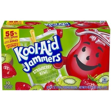 Kool Aid Kool-Aid - Sour Jammers Strawberry Kiwi Flavored Drink 10-pack