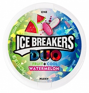Ice Breakers Ice Breakers - Duo Watermelon 42 Gram