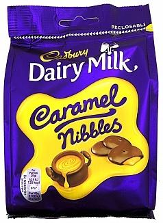 Cadbury Cadbury - Dairy Milk Caramel Nibbles 120 Gram