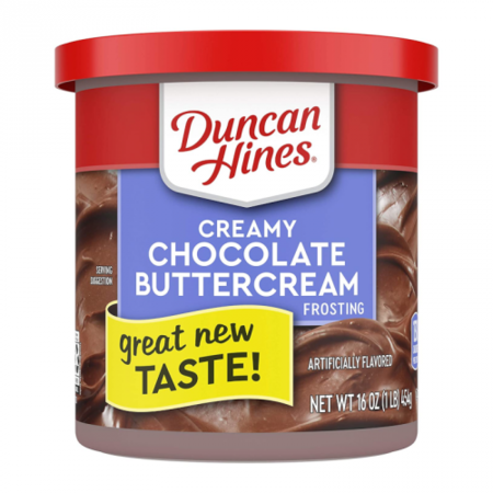 Duncan Hines Duncan Hines - Chocolate Buttercream Frosting 453 Gram