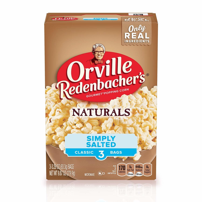 Orville Redenbacher Orville - Redenbacher Simply Salted 279 Gram
