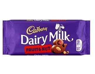 Cadbury Cadbury - Dairy Milk Fruit & Nut 95 Gram