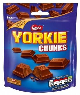 Nestle Nestle - Yorkie Milk Chunks Bag 100 Gram