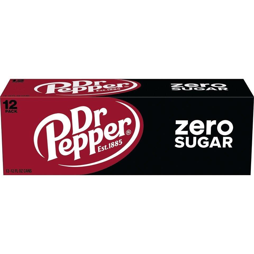 Dr Pepper Dr Pepper - Zero Sugar 355ml 12 Blikjes