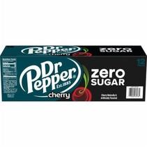 Dr Pepper - Cherry Zero 355ml 12 Blikjes