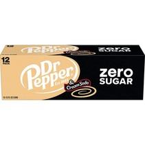 Dr Pepper - Cream and Soda Zero 355ml 12 Blikjes