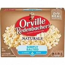 Orville Redenbacher's - Naturals Popcorn Simply Salted 560 Gram