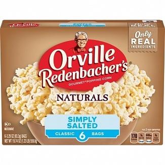 Orville Redenbacher Orville Redenbacher's - Naturals Popcorn Simply Salted 560 Gram