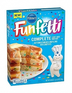 Pillsbury Pillsbury - Funfetti Complete Pancake & Waffle Mix 794 Gram