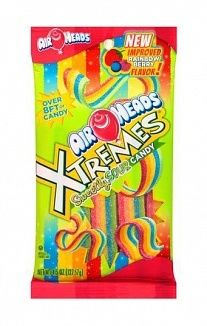 Airheads Airheads - Xtremes Sweetly Sour Candy Rainbow Berry 128 Gram