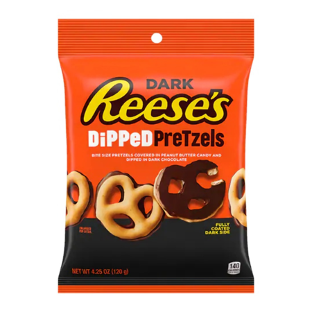 Reese's Reese's - Dark Dipped Pretzels 120 Gram