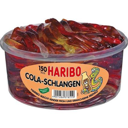 Haribo Haribo - Silo Cola Slangen 150 Stuks 1050 Gram
