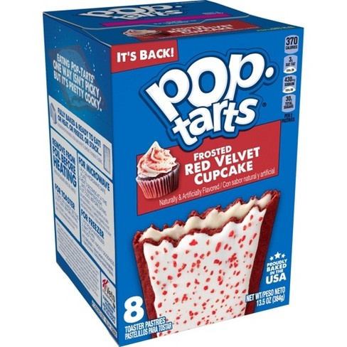 Pop-Tarts Kellogg's - Pop-Tarts Red Velvet 394 Gram