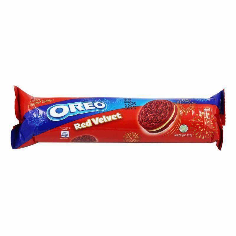 Oreo Oreo - Red Velvet 133 Gram