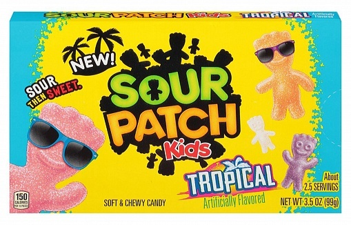 Sour Patch Sour Patch - Tropical 99 Gram