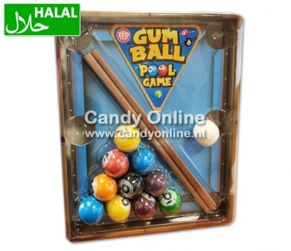 Zed Candy Zed Candy - Gumball Pool Game 125 Gram