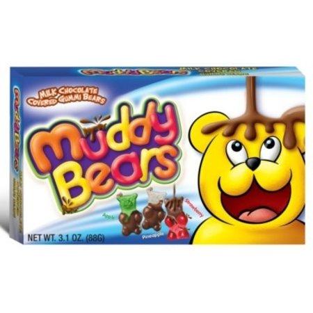 Muddy Bears Muddy Bears - Chocolate Gummi Bears 88 Gram