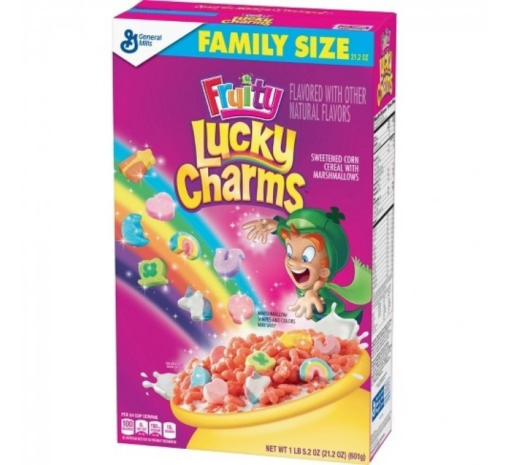 Lucky Charms Lucky Charms - Fruity  601 Gram