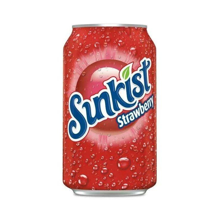 Sunkist Sunkist - Strawberry Lemoade 355ml