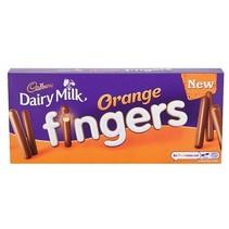 Cadbury - Orange Fingers 114 Gram