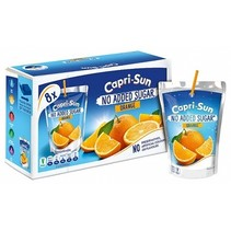 Caprisun - Orange - No Added Sugar 8-Pack
