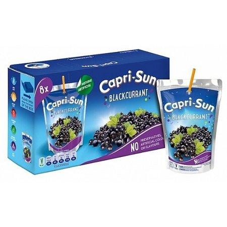 Capri-Son Caprisun - Blackcurrant - No Added Sugar 8-Pack