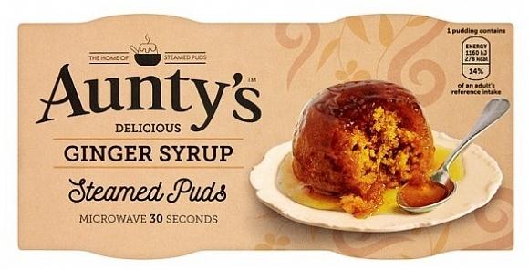 Auntys - Ginger Pudding 190 Gram