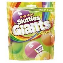 Skittles - Giant Sours 170 Gram