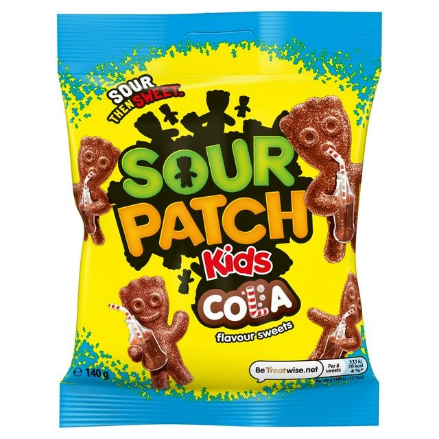 Sour Patch Sour Patch - Kids Cola 140 Gram