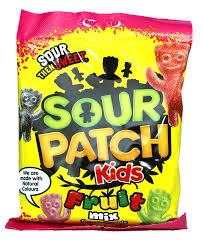 Sour Patch Sour Patch - Kids Fruit Mix 140 Gram
